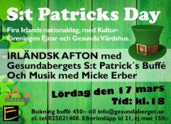 S:t Patrics Day @ Gesundabergets Värdshus | Dalarnas län | Sverige