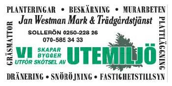 Jan Westman Mark & Trädgårdstjänst