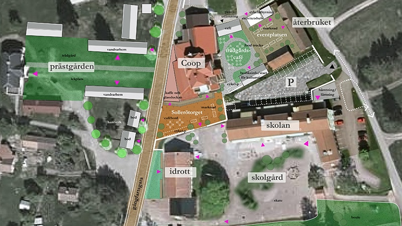 Solleröns nya centrum?